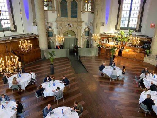 Afbeelding #000 voor het verhaal Een tijdelijk restaurant in De Oostkerk in Middelburg
