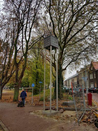 Afbeelding #000 voor het verhaal Een tweede leven voor de oude lichtmasten van de Markt in Middelburg