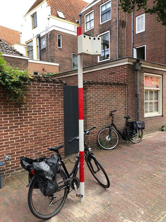 Afbeelding #000 voor het verhaal Een verkeersteller in de Sint Pieterstraat
