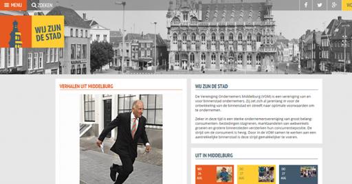 Afbeelding #000 voor het verhaal Een website voor Wij zijn De Stad