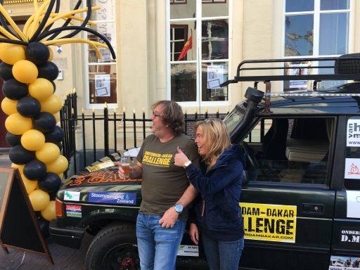 Afbeelding #000 voor het verhaal Esther en Milko, de Middelburgse deelnemers aan de Amsterdam-Dakar Challenge