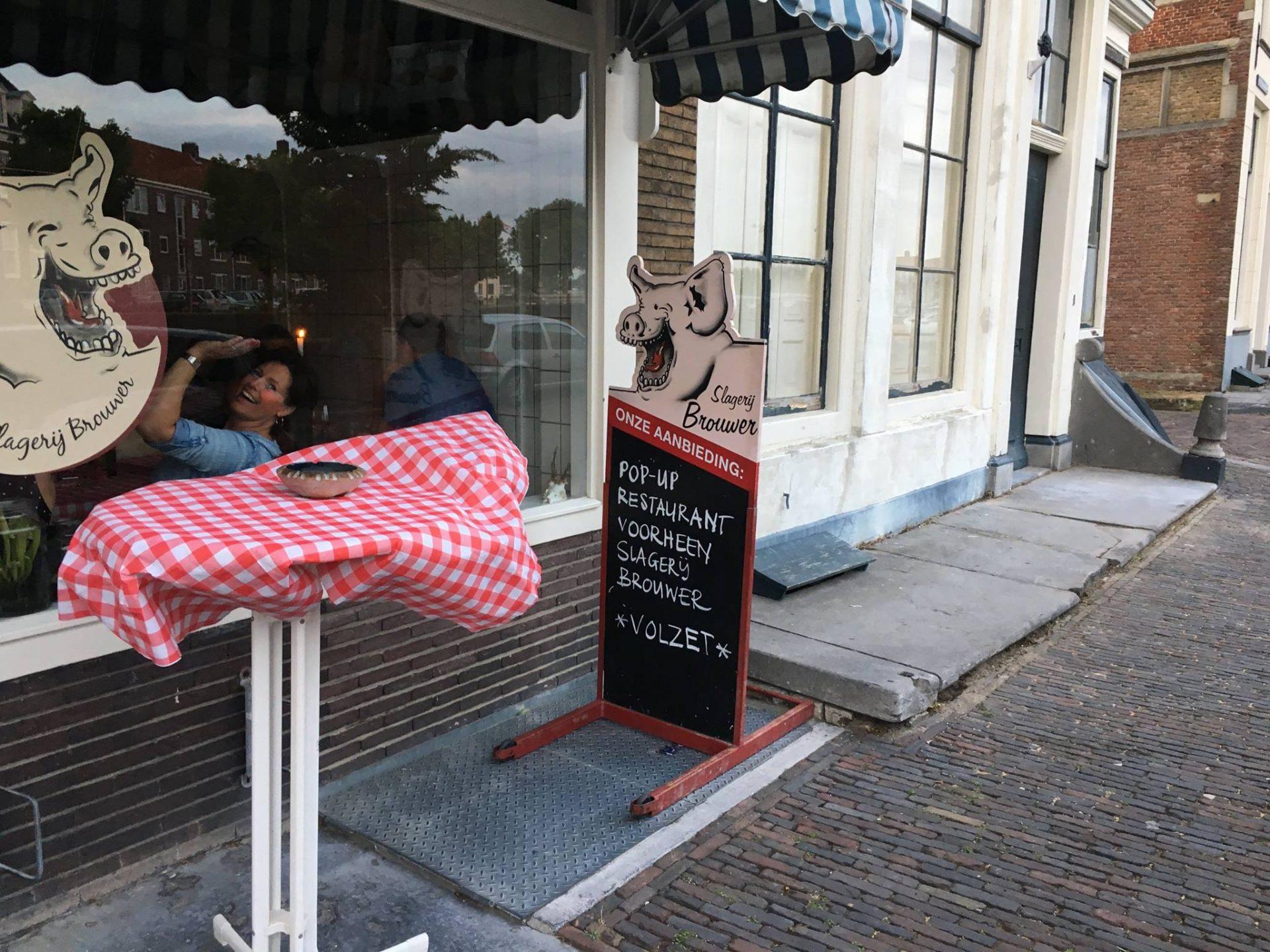Afbeelding #000 voor het verhaal Eten bij Voorheen Slagerij Brouwer in Middelburg