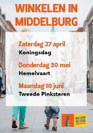 Afbeelding #000 voor het verhaal (Extra) Winkelen in Middelburg!