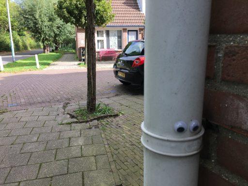 Afbeelding #003 voor het verhaal Eyebombing in Middelburg met Joan