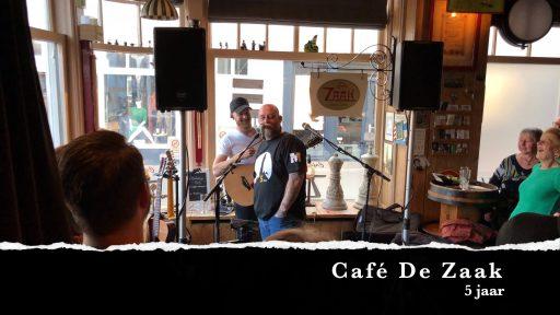 Afbeelding #000 voor het verhaal Feestje! 5 jaar Café De Zaak in Middelburg