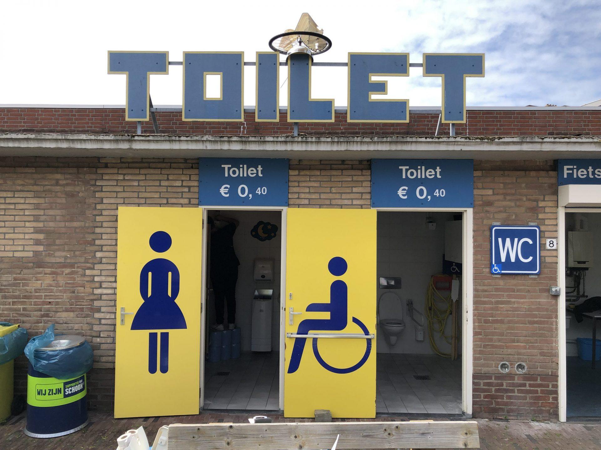 Afbeelding #001 voor het verhaal Fietsenstalling en openbare toiletten Middelburg tijdelijk gesloten