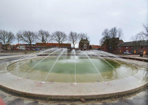 Afbeelding #001 voor het verhaal Fontein Spiegelvijver Park Molenwater in gebruik genomen