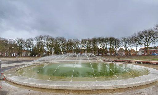 Afbeelding #002 voor het verhaal Fontein Spiegelvijver Park Molenwater in gebruik genomen