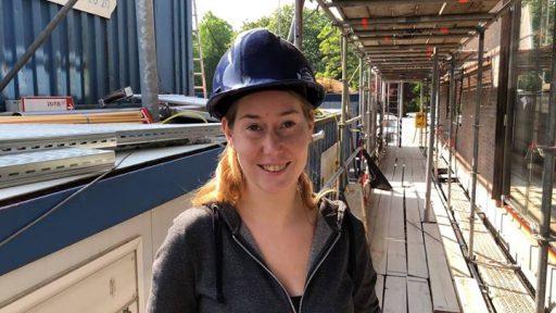 Afbeelding #000 voor het verhaal Francis Lilith, een vrouw in de bouw