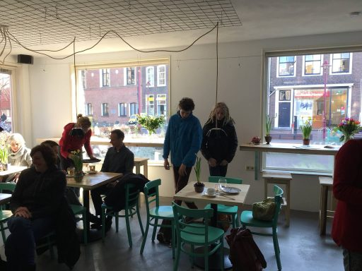 Afbeelding #004 voor het verhaal Geopend aan de Nieuwe Burg: Lunchcafé Imagine
