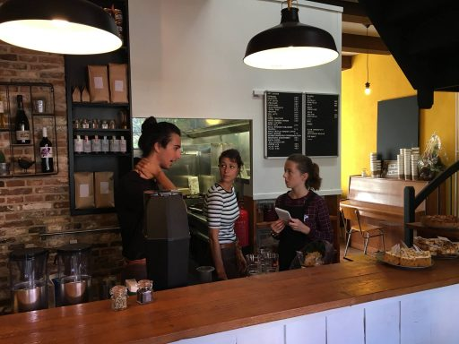 Afbeelding #001 voor het verhaal Geopend in de Korte Geere: Het Koffiepand