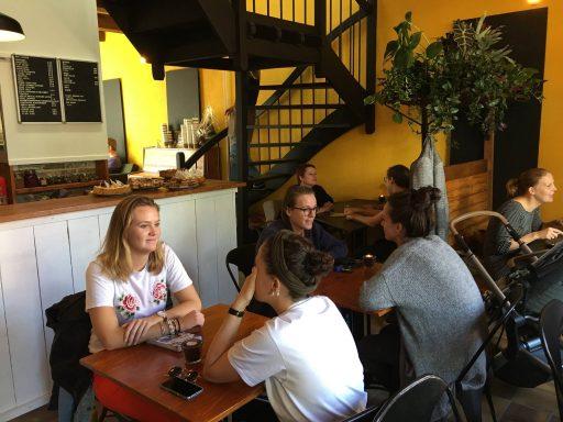 Afbeelding #004 voor het verhaal Geopend in de Korte Geere: Het Koffiepand