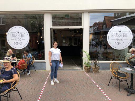 Afbeelding #001 voor het verhaal Geopend in de Lange Delft: de pop-up van Brasserie 1600