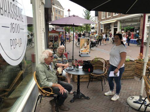 Afbeelding #003 voor het verhaal Geopend in de Lange Delft: de pop-up van Brasserie 1600
