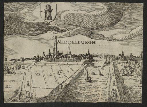Afbeelding #002 voor het verhaal Gezicht op Middelburg, of: hoe waarheidsgetrouw is een schilderij uit 1550 eigenlijk?