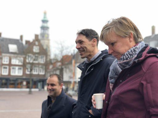 Afbeelding #002 voor het verhaal Google Digitale Werkplaats van start op de Markt in Middelburg