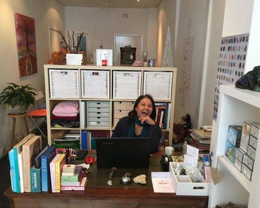 Afbeelding #000 voor het verhaal Grace Wilson de nieuwe exploitant van de koffiebar van InMiddels