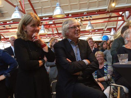 Afbeelding #000 voor het verhaal Het afscheid van Dick Anbeek en Anja de Groene in de Drvkkery