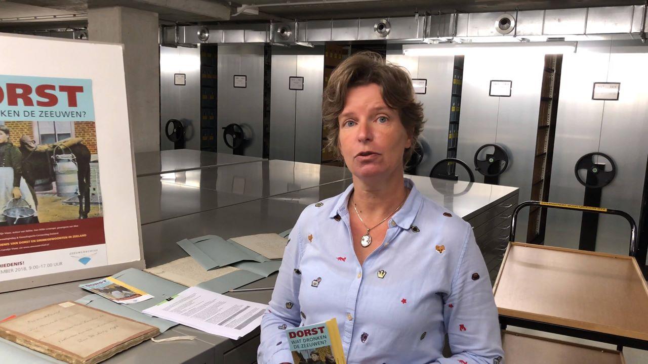 Afbeelding #000 voor het verhaal Het Archief is de Stad 9: Roosanne Goudbeek over de open dag Zeeuws Archief 2018