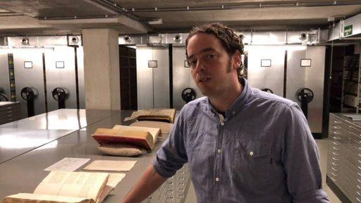 Afbeelding #000 voor het verhaal Het archief is De Stad: Ilja Mostert over kaartenmaker Cornelis Goliath