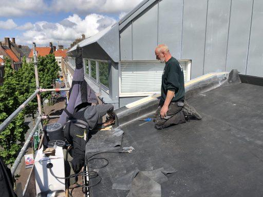 Afbeelding #000 voor het verhaal Het dak op met Henk & John