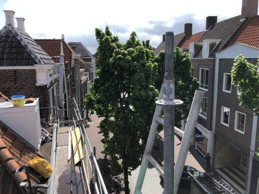 Afbeelding #001 voor het verhaal Het dak op met Henk & John