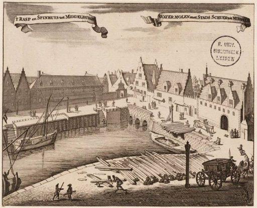 Afbeelding #000 voor het verhaal Historie! Over 't Rasp en Spinhuys in Middelburg