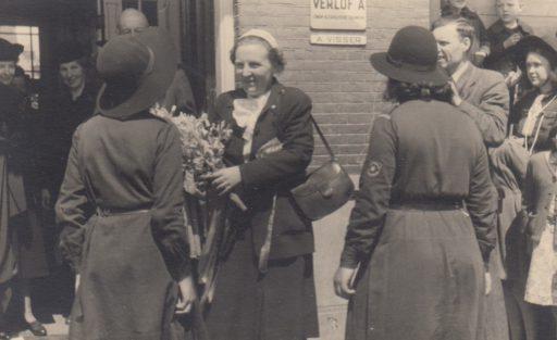 Afbeelding #001 voor het verhaal Historische foto's van Middelburg uit de collectie van Annemarie Adriaanse