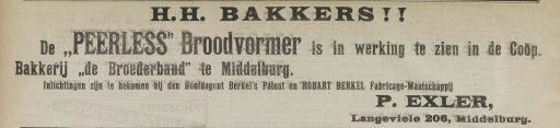 Afbeelding #001 voor het verhaal Hoeden en petten en dameskorsetten: hoe Piet Exler de Middelburgse middenstand tilde