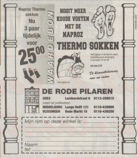 Afbeelding #001 voor het verhaal Hoera! Drogisterij De Rode Pilaren bestaat dertig jaar!