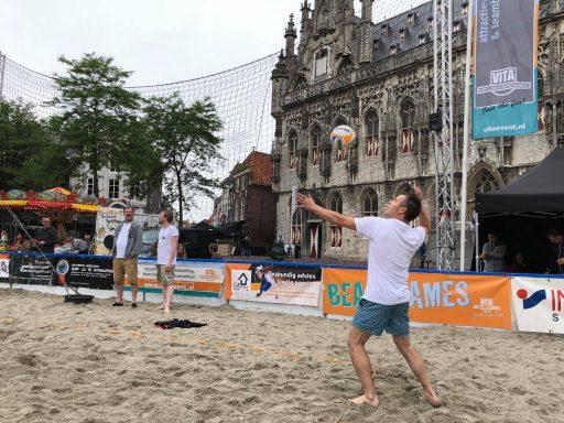 Afbeelding #000 voor het verhaal Horeca Beachvolleybaltoernooi Middelburg 2018