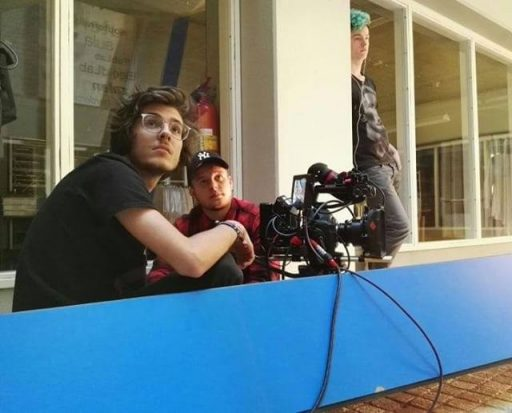 Afbeelding #004 voor het verhaal In première: de korte film Rood Fluweel, gemaakt in de Zeeuwse bieb