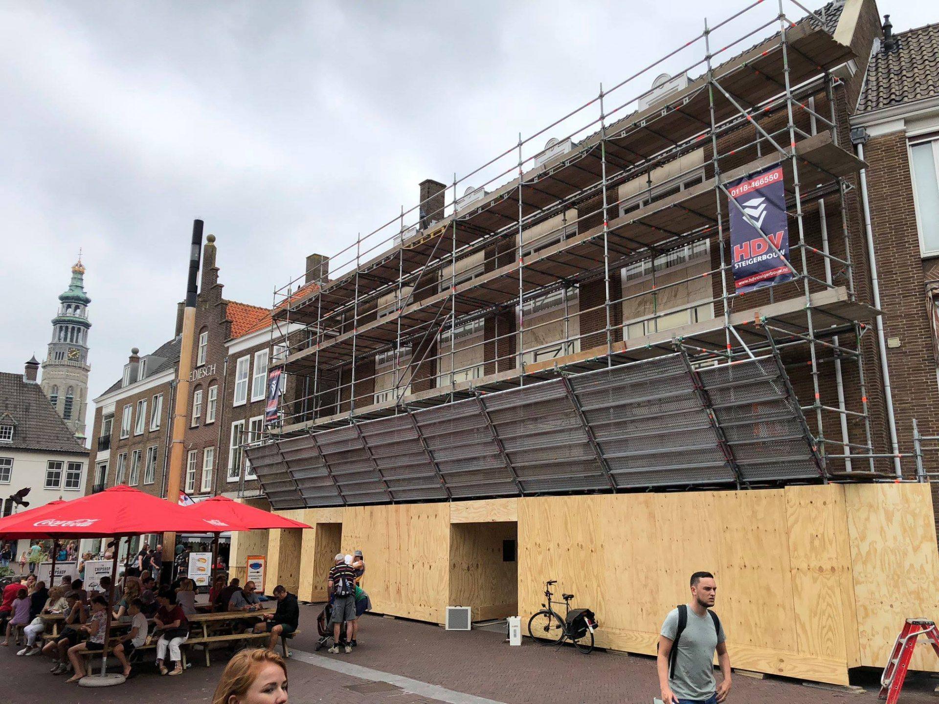 Afbeelding #000 voor het verhaal ING Middelburg in de steigers