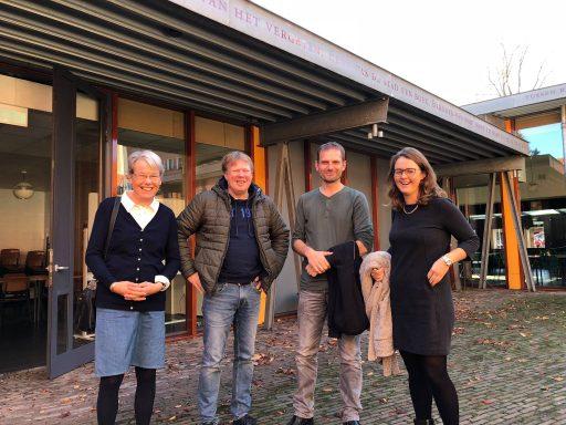 Afbeelding #000 voor het verhaal Inloop Hofje onder den Toren wordt officieel geopend