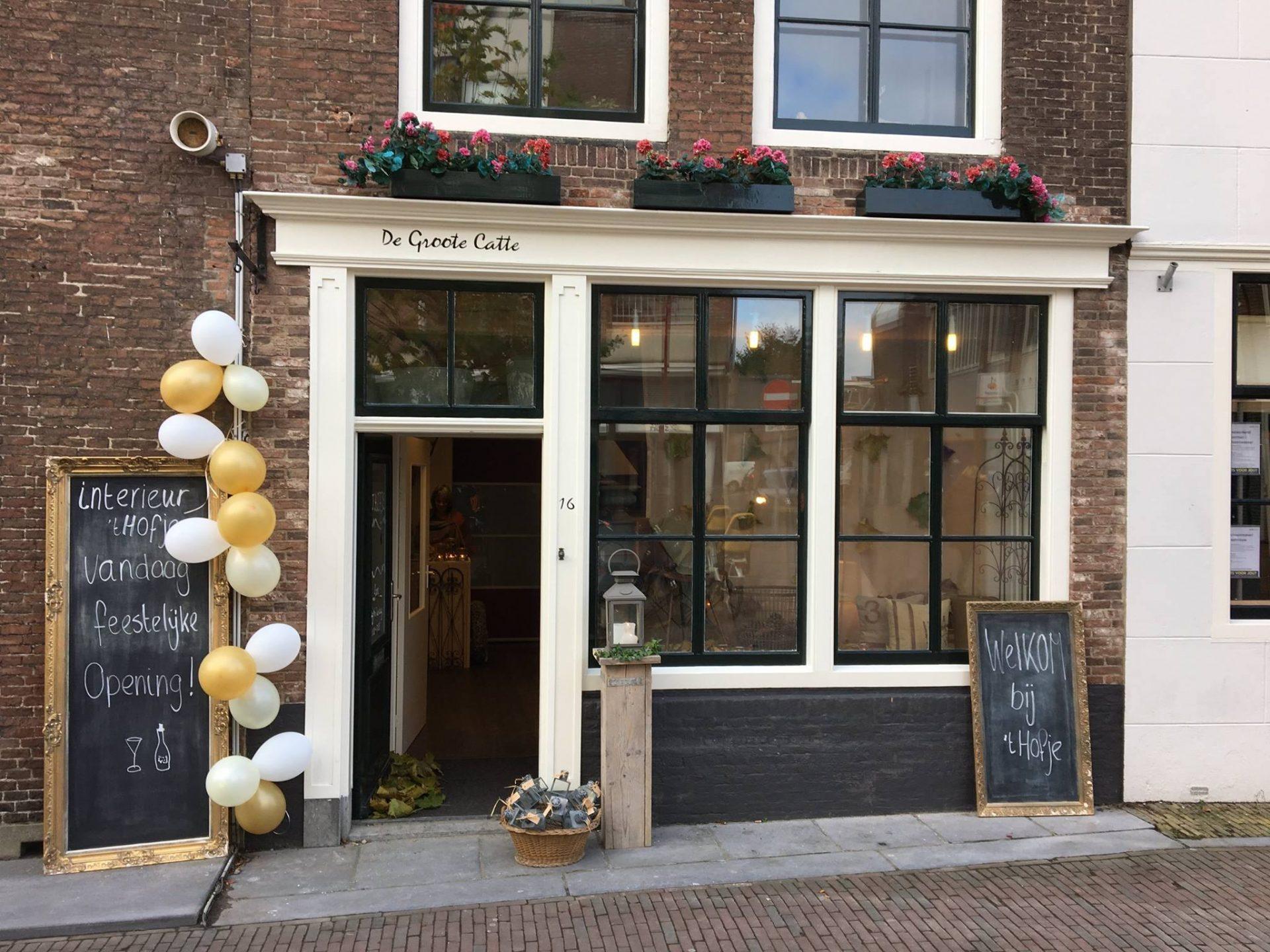 Afbeelding #000 voor het verhaal Interieur 't Hofje tijdelijk in de Lange Geere in Middelburg
