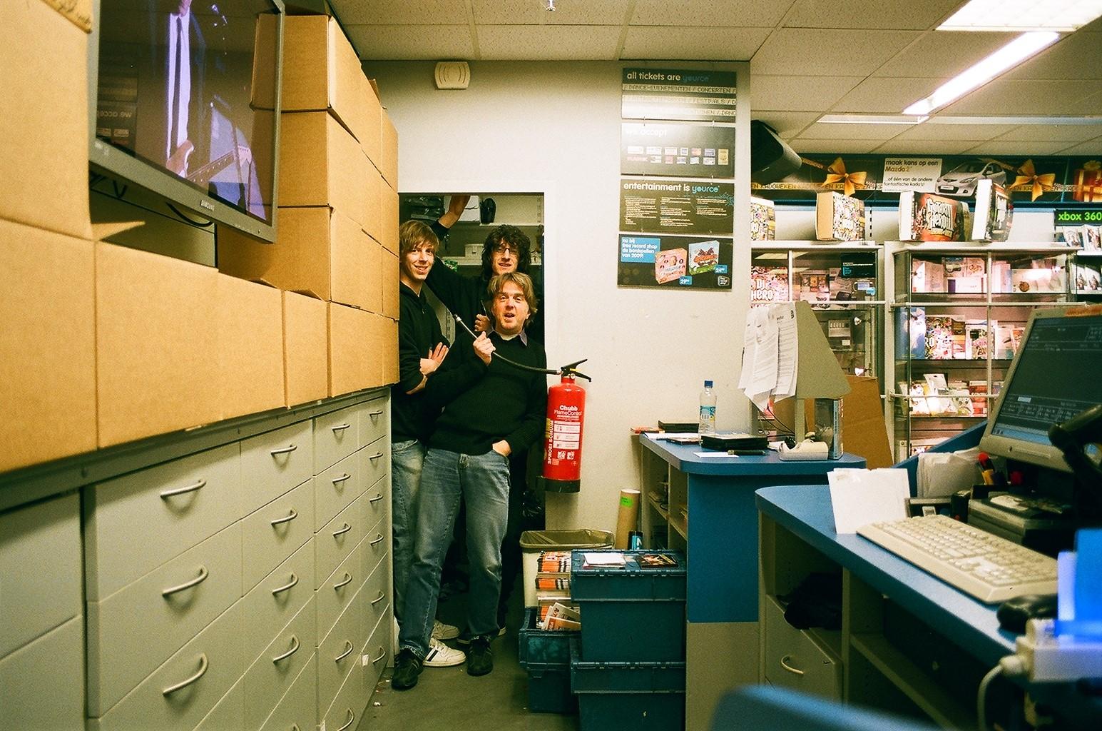 Afbeelding #000 voor het verhaal John van der Horst over Free Record Shop Middelburg en andere platenzaken