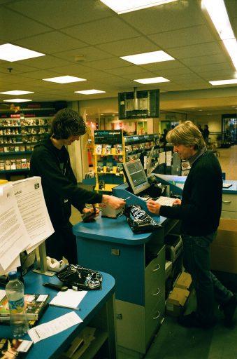 Afbeelding #001 voor het verhaal John van der Horst over Free Record Shop Middelburg en andere platenzaken