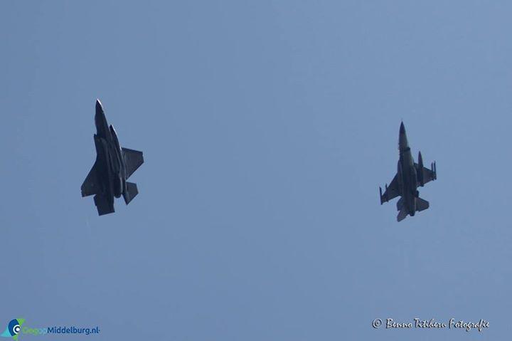 Afbeelding #000 voor het verhaal Joint Strike Fighter (F35) boven Middelburg