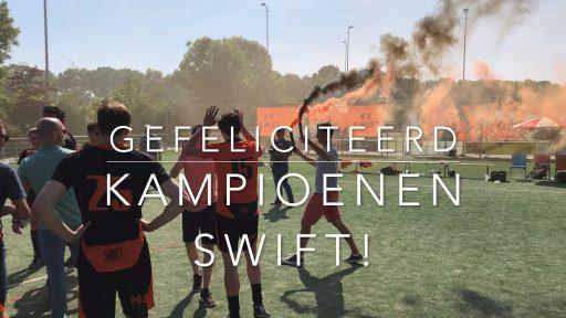 Afbeelding #000 voor het verhaal Kampioenen! Op bezoek bij Korfbalvereniging Swift in Middelburg