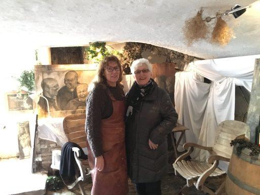 Afbeelding #003 voor het verhaal Kelderkunst: de mooie schilderijen van Mirjam de Visser-Pouwer op Damplein 21