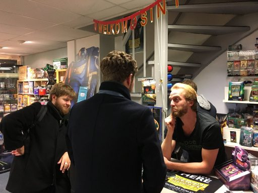 Afbeelding #003 voor het verhaal Kennismaken met bordspellen bij spellenspeciaalzaak De Burcht in Middelburg
