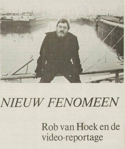 Afbeelding #000 voor het verhaal Kennismaken met Rob van Hoek