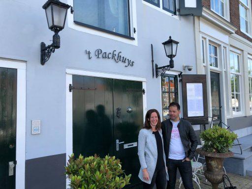Afbeelding #000 voor het verhaal Kim en Mirjam van der Hiele nieuwe eigenaars Restaurant 't Packhuys Middelburg