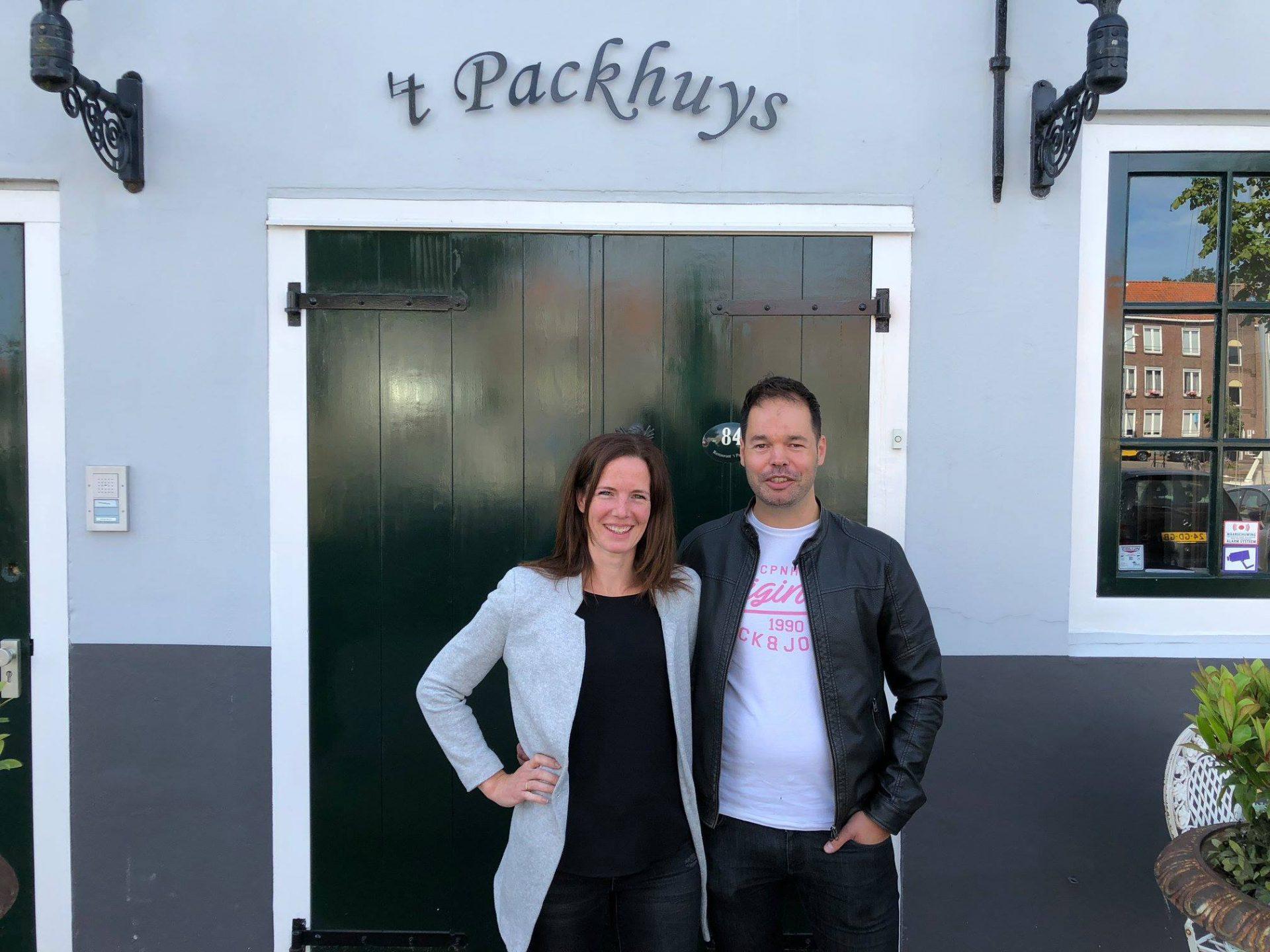 Afbeelding #002 voor het verhaal Kim en Mirjam van der Hiele nieuwe eigenaars Restaurant 't Packhuys Middelburg