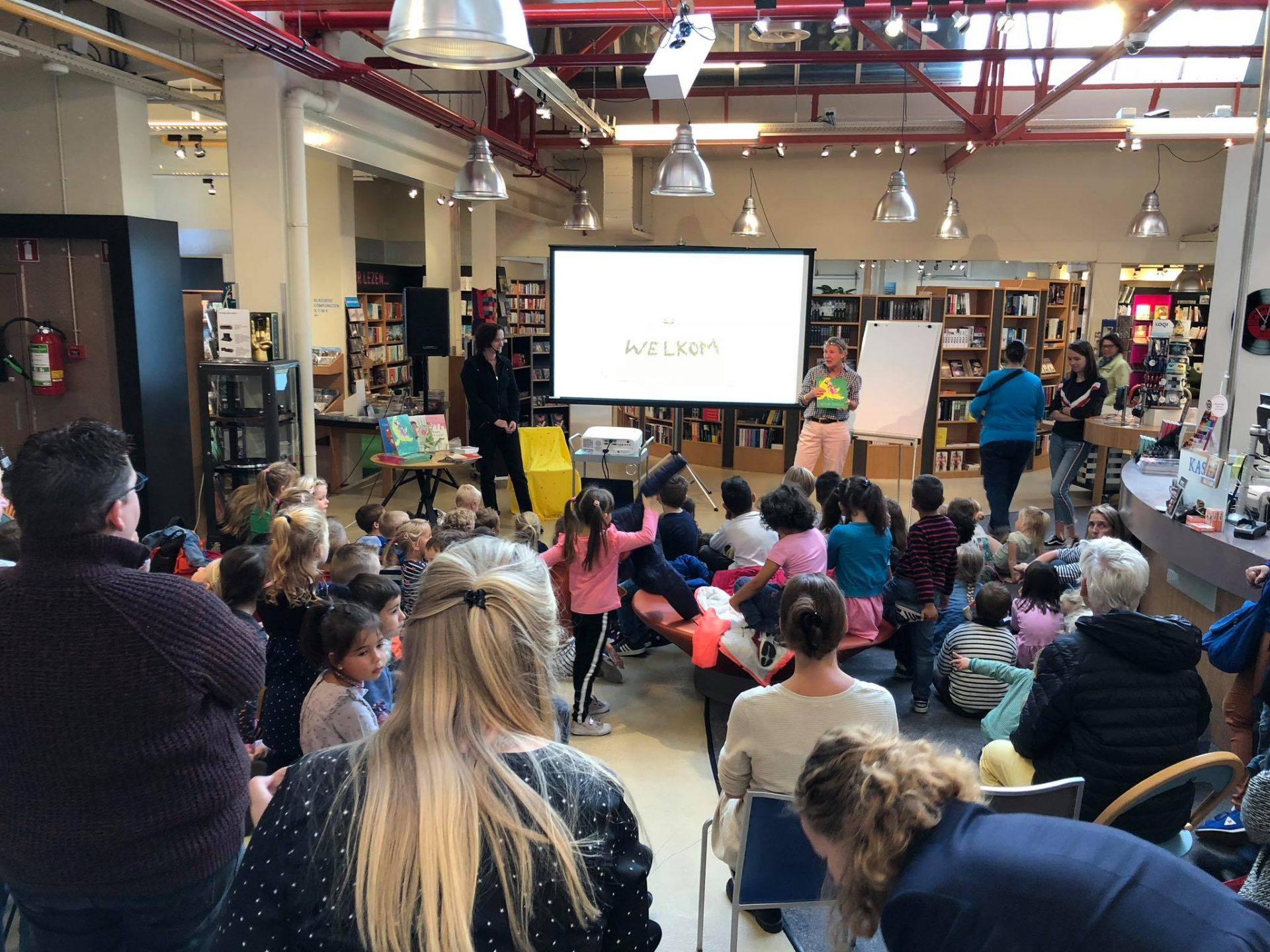 Afbeelding #000 voor het verhaal Kinderboekenweek Middelburg 2018 is begonnen