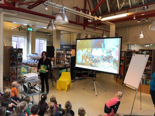 Afbeelding #003 voor het verhaal Kinderboekenweek Middelburg 2018 is begonnen