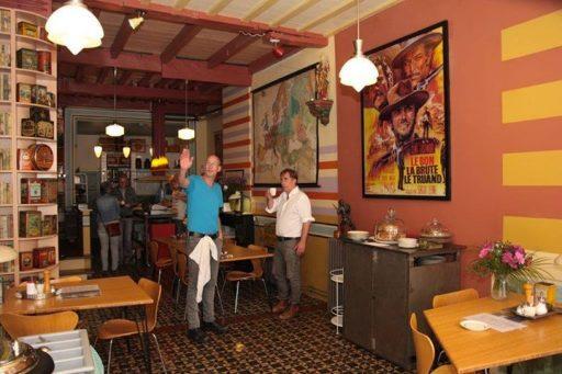 Afbeelding #000 voor het verhaal Koffiehuis Isings geopend in de Lange Noordstraat