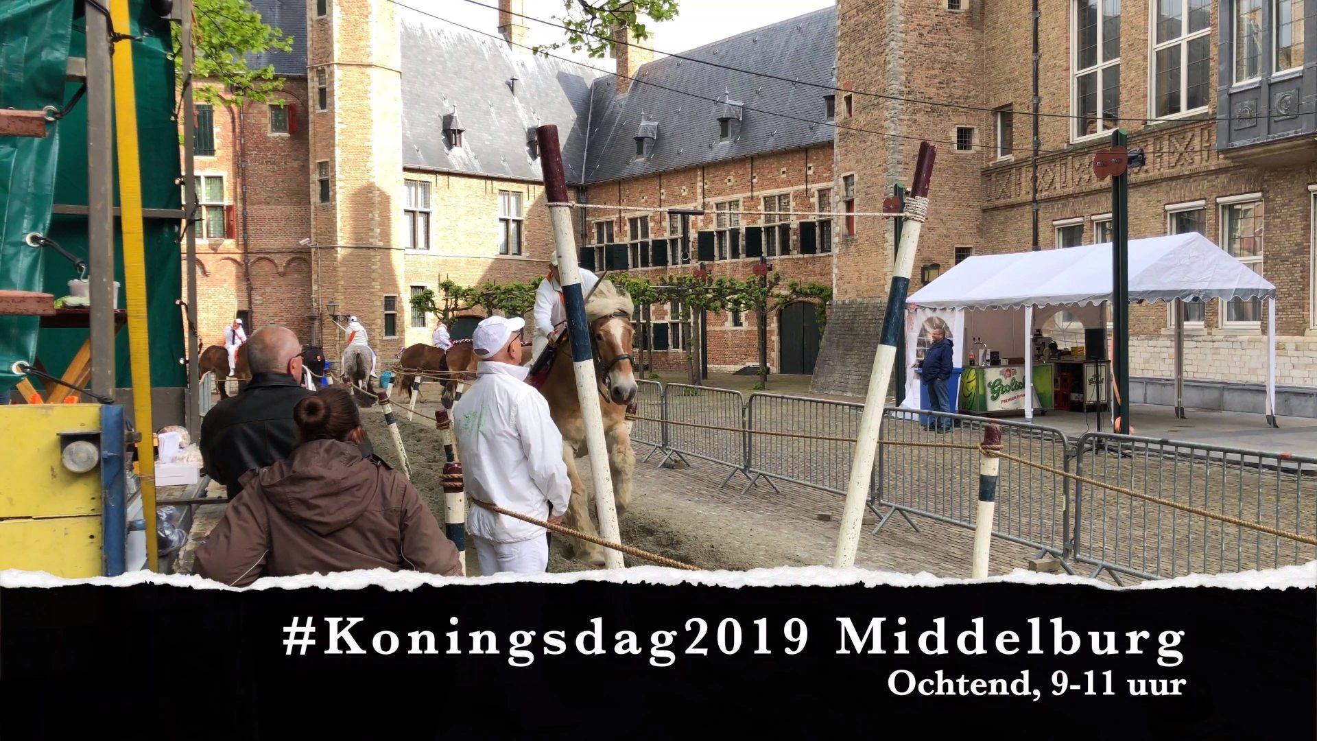 Afbeelding #000 voor het verhaal Koningsdag Middelburg 2019: de vroege vogels