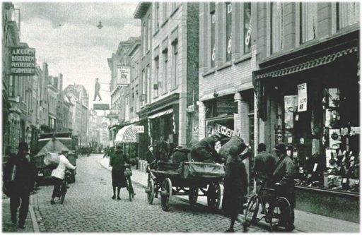 Afbeelding #000 voor het verhaal Lange Delft Middelburg, 1931