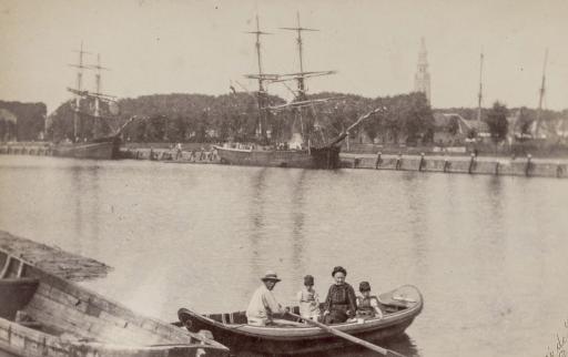 Afbeelding #001 voor het verhaal Lekker zen: historische beelden van Middelburg